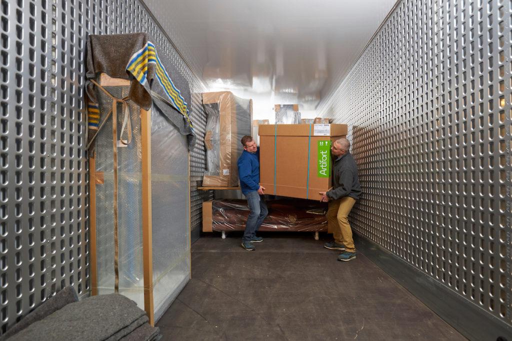 Meubelopslag & warehousing